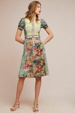 $628 Anthropologie blair collared column dress by Byron Lars size 2