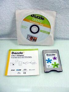 Dazzle 4-in-1 Adapter PCMCIA Card Multimedia SD Smart Media Memory Stick | $20 |