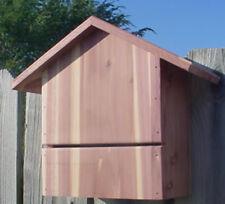 Small cedar bat house