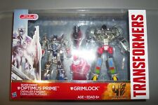 Transformers tf4 aoe silver knight optimus prime grimlock target EXCLUSIVE