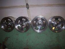 Ansen Sprint 15 X 7 Aluminum Slotted Mag Wheels Set of 4 New