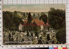Ribbesford Church, near Bewdley vintage postcard Kidderminster postmark 1907