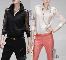 Long Sleeve Tops Rockabilly Blouses for Women