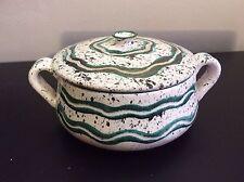 Pot couvert en céramique émaillée scarifiée signée Charles Voltz Valllauris