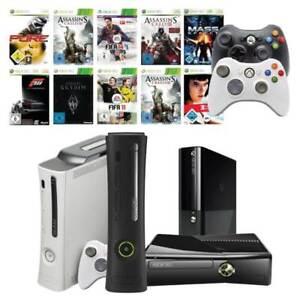 Xbox 360 Konsole ( Core / Elite / Slim S / E ) 1 bis 4 Original Controller
