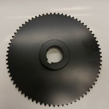 """Roller Chain Sprocket, #35, 72 Tooth, 1.5"""" Bore, 710-372-K"""