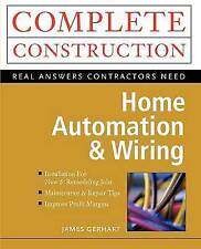 Home Automation and Wiring by Gerhart, James Paperback Book