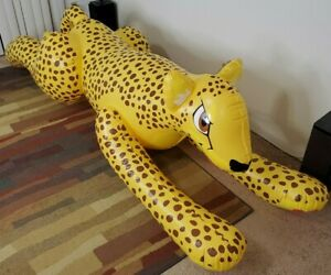 Life Sized Yellow Spotted Inflatable Cheetah from Inflatable World