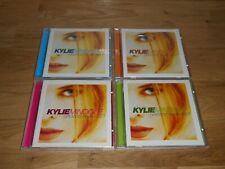 KYLIE MINOGUE GREATEST REMIX HITS VOLUMES 1-4 CD JOB LOT BUNDLE MUSHROOM