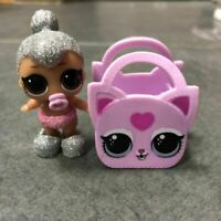 WITH BAG SHOES LOL Surprise Doll Lil Kitty Queen With bag Ultra Rare toy figure