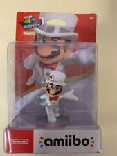 Nintendo Amiibo Mario Super Mario Odyssey Action Figure | White BRAND NEW