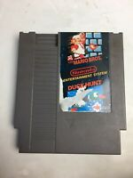Super Mario Bros / Duck Hunt - NES Game (Tested & Works)