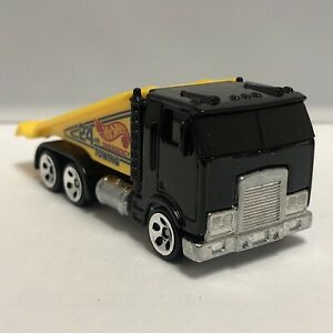 Hot Wheels Black Ramp Truck Flatbed Tow 1:64 Scale Diecast Toy Car Model Mattel