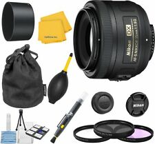 Nikon 35mm 1.8G Lens Bundle + U.V. + FLD + CPL + Blower Brush + Lens Pen + Cloth