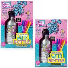 Your Décor Color Your Own Water Bottle Kit, Multi Colored 2 Pack