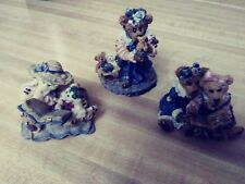 Boyds bears figurines lot of 3