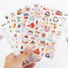 6X Color Cute Rabbit Diary Ablum Scrapbooking Sticker Journal Photo Decor Hot FR