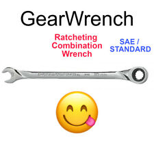 Gearwrench Ratcheting Wrench 12 Point Sae Standad Combination Hand Ratchet Tool