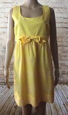 Juciy Couture Sleeveless Yellow Sz. 10 Sundress
