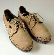 Dexter U.S.A. Tan Suede Bowling Shoes Lace Up 8 1/2 M (USA size)/39EU/6.5UK