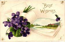 GP GOLDPATH: US POST CARD 1909, BOSTON, OH. _CV690_P17