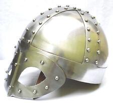 Médiévale Viking Masque Deluxe Casque Avec Doublure & Menton Bracelet Pour