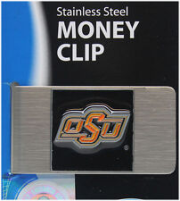 College Money Clip Oklahoma State Cowboys