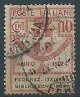 1924 REGNO USATO ENTI PARASTATALI 10 CENT - RR13804-2