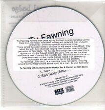 (CQ247) Tu Fawning, Sad Story - 2011 DJ CD
