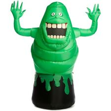 Slimer Inflatable Halloween Yard Decoration Ghostbusters Airblown Outdoor