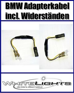 Câble Adaptateur Avec Résistances Pour LED Mini Clignotant BMW S 1000 RR