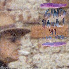 Gino Paoli:  '89 dal vivo - CD