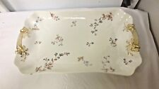 "CFH GDM France Haviland Limoges marked 14"" Platter/Tray-C.H. Field-Wildflower"