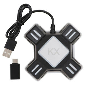 KX Wired Hub Video Game Keyboard Mouse Adapter Converter for Xbox One PS4