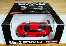 "Kyosho Mini-Z RWD Audi R8 LMS 2015 ""Red"" Readyset 32323R RTR Free Shipping"