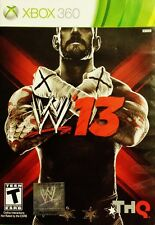 WWE '13 Xbox 360 Great Condition Complete Fast Shipping
