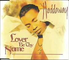 HADDAWAY Lover Be Thy Name 3TRX w/ I Know & Give it Up CD Single SEALED 1995