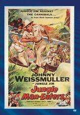 JUNGLE MAN-EATERS (B&W) Region Free DVD - Sealed