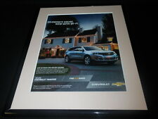 2016 Chevrolet Chevy Traverse 11x14 Framed ORIGINAL Advertisement B