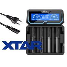 Xtar X4 4-Schacht Ladegerät Li-Ion NiMH NiCD Akkus 18650 20700 21700 26650 uvm.