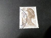 FRANCE 1982, timbre 2183, LIBERTE', oblitéré, VF STAMP