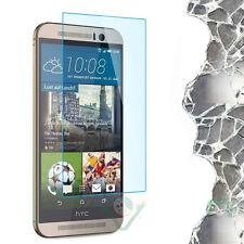 Película VIDRIO transparente pantalla para HTC One M9 protección delgado