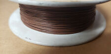 THERMAX MIL-W-16878D, 30AWG BROWN WIRE (100FT)