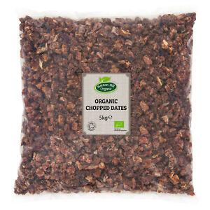 Organic Chopped Dates 5kg Certified Organic