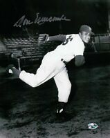 Don Newcombe Signed 8X10 Photo Autograph Dodgers B/W One Leg Pose Auto COA