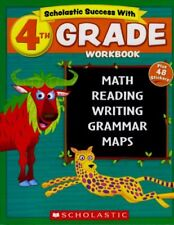 Scholastic - 4th GRADE Workbook with Motivational