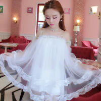 Girls Cute Sweet Princess Lolita Kawaii  Dolly strapless Dress