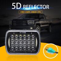 """Le plus lumineux phare DRL de 105W 7X6"""" 5X7"""" LED pour Chevrolet Jeep Cherokee XJ"""
