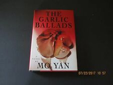 The Garlic Ballads by Mo Yan 1st/1st 1995 HC/DJ