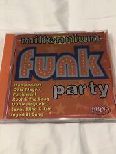 Various Artists : Millennium Funk Party / Various Soul/R & B 1 Disc Cd Rhino